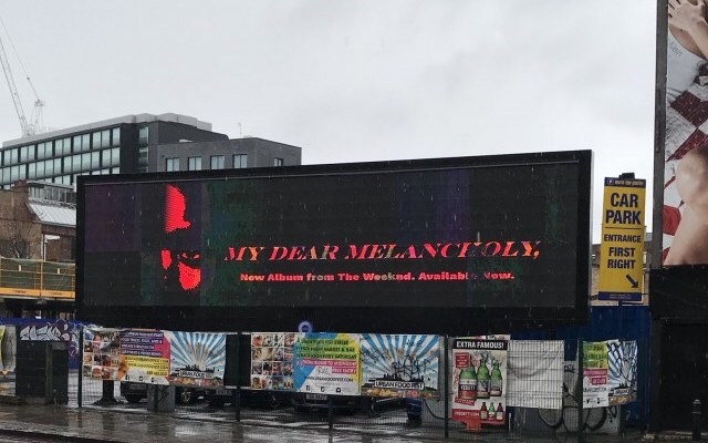 My Dear Melancholy album art