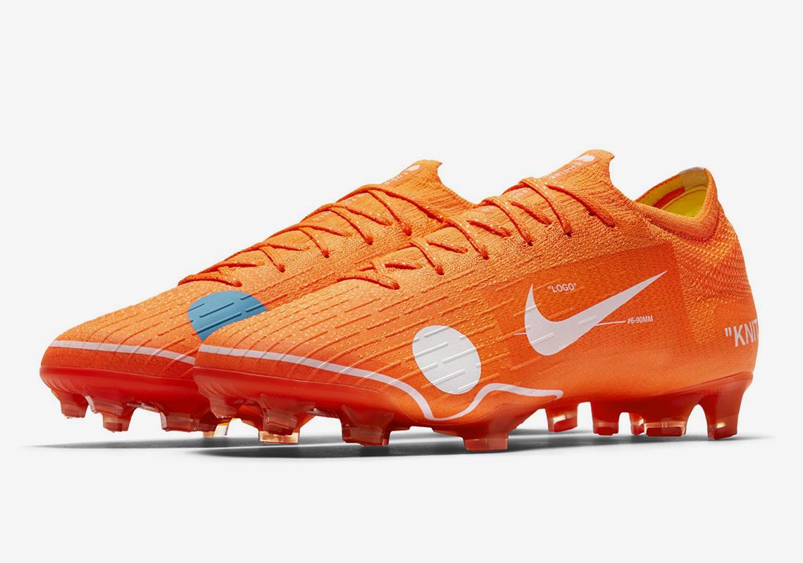 Off White X Nike: Virgil Abloh Redesigns Nike Mercurial ...