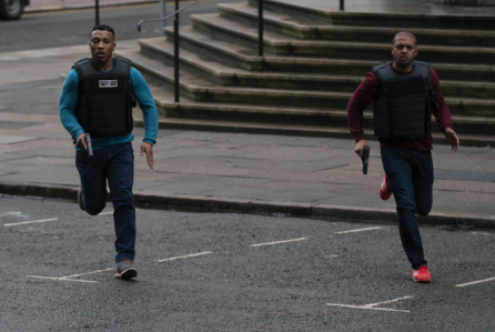 Noel Clarke and Ashley Walters in Bulletproof